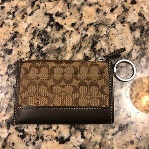 EUC Coach ID wallet/keychain
